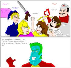 Captain Planet Meme - image 10205 summoning captain planet know your meme