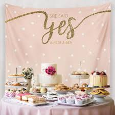 wedding event backdrop custom wedding tapestries for dessert backdrops and photo booths