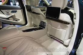 mercedes maybach s500 mercedes maybach s500 legroom at the 2015 chengdu motor show