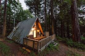 a frame houses mythical a frame tiny house waits for you in the california woods