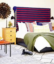 11 chic masculine bedrooms enriched by geometric rugs