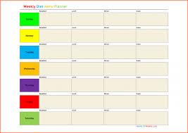 menu calendar template microsoft best agenda templates