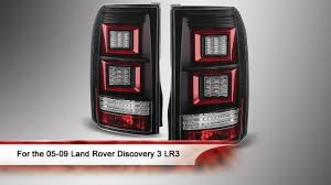 discovery 2 rear light conversion 05 09 land rover discovery 3 lr3 light bar led tail lights youtube