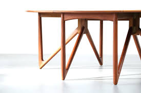 dining table furniture ideas oval danish dining table 1960s