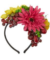 fruit headband grevi multicolour fruit headband lyst