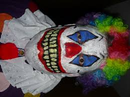 creepy clown party scary creepy mask halloween clowns costumes
