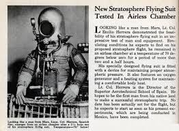 new stratosphere flying suit tested in airless chamber modern