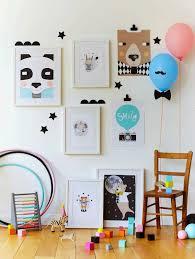 tendance chambre enfant cadres déco et chambre enfant la clé d u0027une décoration bien