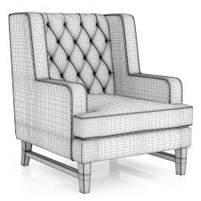 Outdoor Furniture Baltimore by 3d Dantone Home Baltimore Armchair Cgtrader