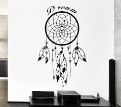 aliexpress com buy feathers dreamcatcher wall sticker with