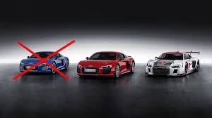 Audi R8 Hybrid - the audi r8 e tron is dead the drive