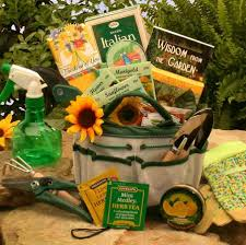 gardening gift basket gift basket for gardeners with book wisdom from the garden more