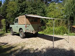 Diy Roof Rack Awning Pull Out Awning For Land Rovers U0026 Other 4x4s Outhaus Uk