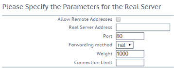 how to configure kemp virtual loadmaster using web user interface