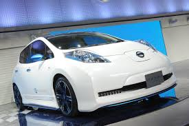 nissan leaf ad nismo adds some zing to nissan leaf ev with new concept at tokyo