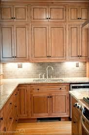 Natural Wood Kitchen Cabinets Kitchen Shaker Style Kitchen Cabinets Black Cabinets With White