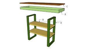 Diy Console Table Plans by Diy Console Table Plans Howtospecialist How To Build Step By