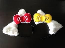 hello headband diy hello ears and bow headband party ideas