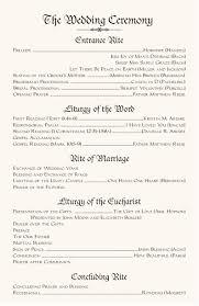 Order Of Wedding Program Team Blog Plum Etsy Plum Wedding Ceremony Order Of Service