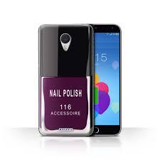 stuff4 back case cover skin for meizu m3 note nail polish make up
