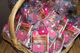 coed baby shower favors zebra print princess baby shower party ideas photo 4 of 38