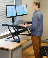 standing desk converter an easy way to try a standing desk