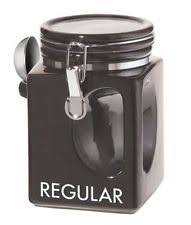 black ceramic kitchen canisters gibson ceramic kitchen canisters jars ebay