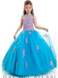Wedding Dresses For Kids Wholesale 2015 Girls Pageant Dresses Ball Gown Turquoise Beaded