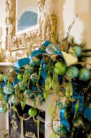 Teal Blue Christmas Tree Decorations by