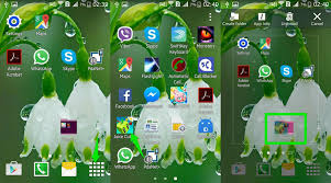 how to make folders on android how to create app folders in android ubergizmo