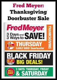 fred meyer thanksgiving day doorbuster sale 2014
