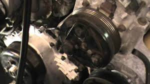 ford ranger water pump replacement on a 4 liter v 6 engine youtube