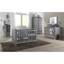 Affordable Nursery Furniture Sets Kidsmill Malmo Smoked Grey Nursery Furniture Set Could Work With