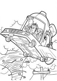 image cloudy with a chance of meatballs flying car 2 coloring