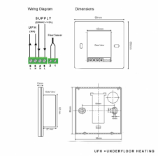 electric underfloor heating wiring diagram with 936 920 and blurts me