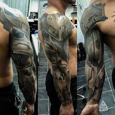 cyborg armor sleeve best tattoo ideas u0026 designs tattoo