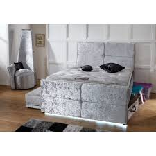 4ft small double bespoke uk made space saver bed with 3ft pull out