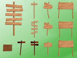 Decorative Wood Post Wooden Post Signs Decorative Vector Vector Free Download