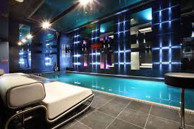 interior luxury modern indoor swimming pool decor with amazing