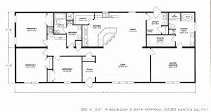 beaufiful 4 bedroom 2 bath house plans pictures creative simple