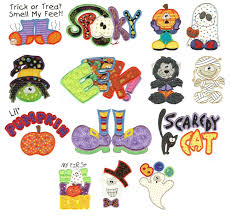 cute halloween applique machine embroidery designs designs by juju