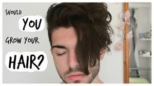 how long for hair to grow out of inverted bob men s hair should you grow out your hair youtube