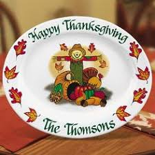 personalized ceramic platters thanksgiving personalized ceramic serving platters enjoy your