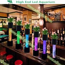discount wedding favors led lighting water bubble columns for sale