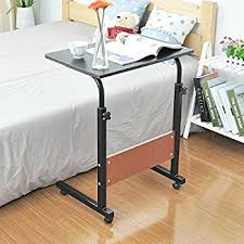 Standing Desk On Wheels Mr Ironstone Adjustable Laptop Stand 80x40cm Portable Standing