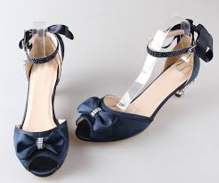 wedding shoes navy blue amazing navy blue satin low heel wedding shoes