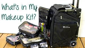 professional makeup artist bag what s in my makeup kit featuring the zuca pro artist