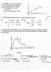 precalculus function word problem worksheet