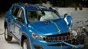 jeep compass side crash test 2017 jeep compass driver side small overlap youtube