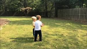 toddler football fail he tries to teach him to hand off the